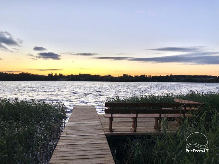 Radviliu sodyba in Anyksciai  area, by the lake - 27