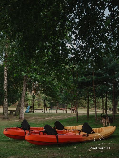 Radviliu sodyba in Anyksciai  area, by the lake - 40