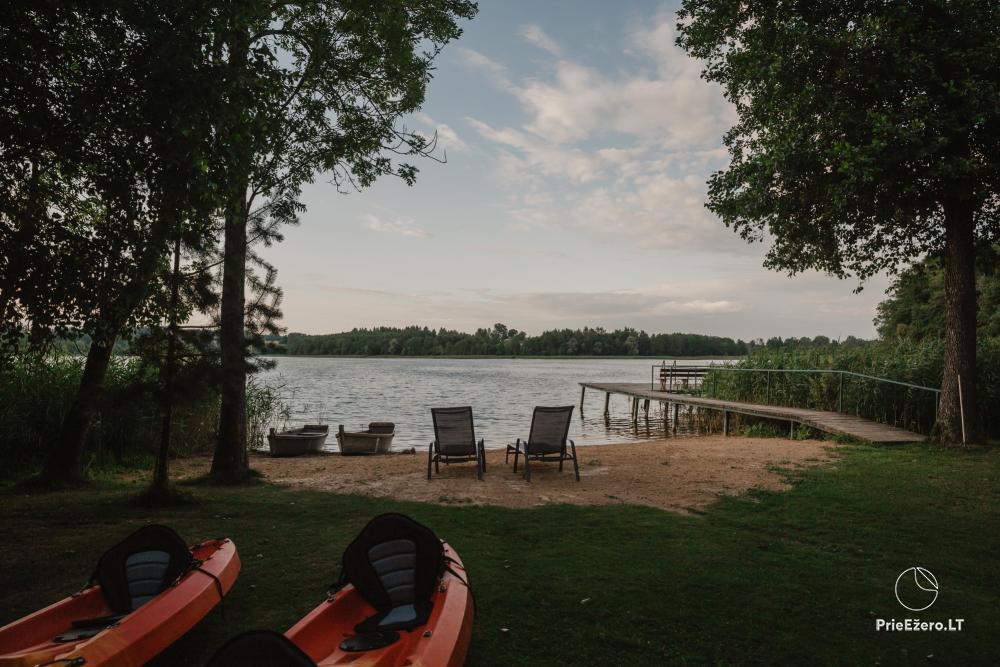 Radviliu sodyba in Anyksciai  area, by the lake - 41