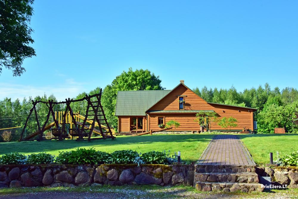 Homestead Adomėnų sodyba - quiet place, surrounded by trees in Moletai district - 15