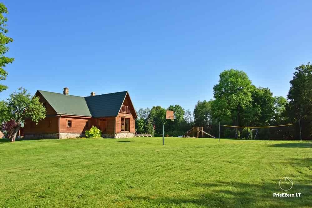 Homestead Adomėnų sodyba - quiet place, surrounded by trees in Moletai district - 13