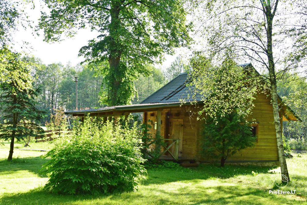 Homestead Adomėnų sodyba - quiet place, surrounded by trees in Moletai district - 2