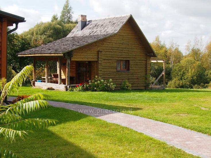 Adomėnas place - quiet, surrounded by trees grange Miškiškėse - 2