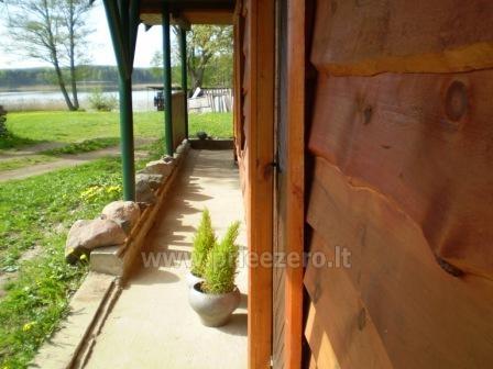Домик в усадьбе на берегу озера в Молетском районе Vyšnia - 8