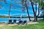 Усадьба в Молетском районе на берегу озера Сиесартис