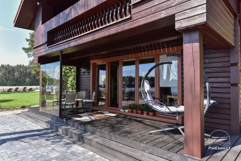 Holiday houses for rent in Moletai area - 28