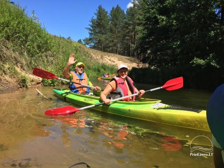 Kayak, bath rental on the shore of the lake Ančia - 22