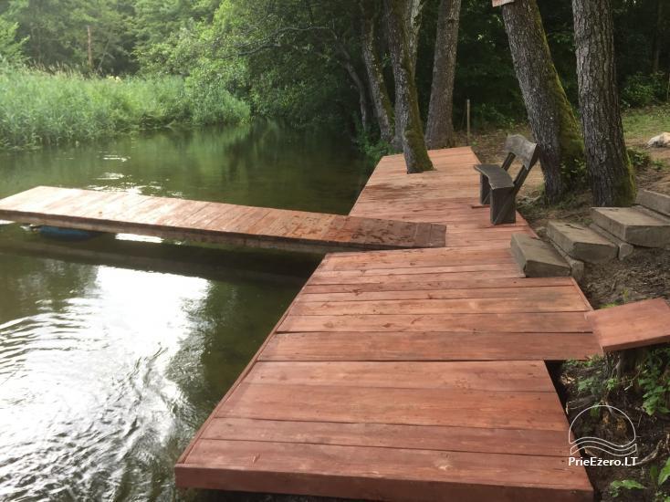 Kayak, bath rental on the shore of the lake Ančia - 16
