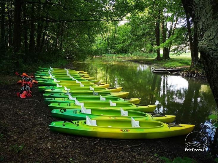 Kayak, bath rental on the shore of the lake Ančia - 23