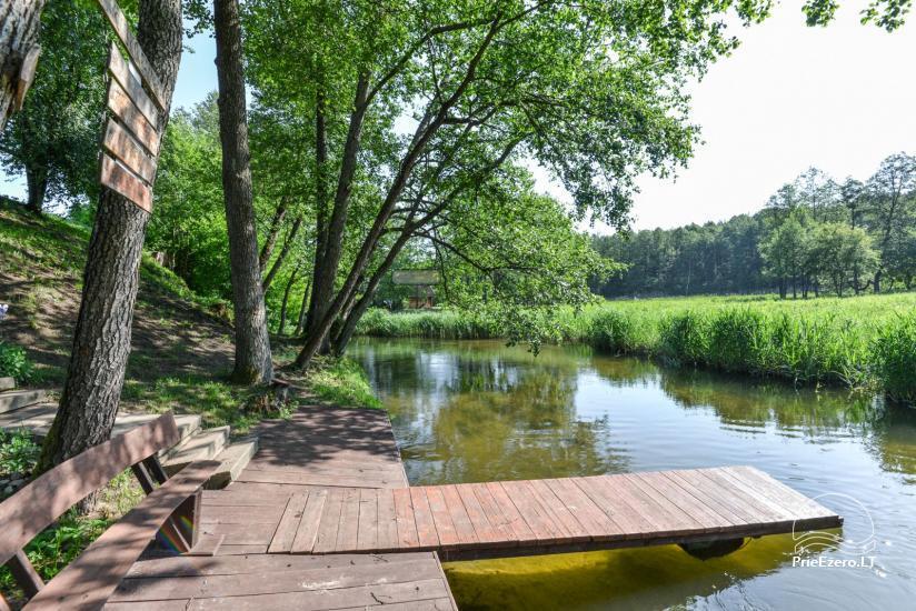 Kayak, bath rental on the shore of the lake Ančia - 14