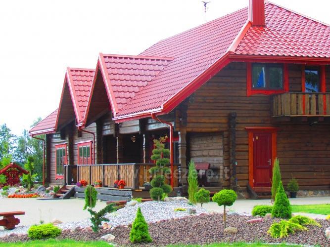 Homestead Vytautu dvaras in Lazdijai district at the lake Galstas - 1
