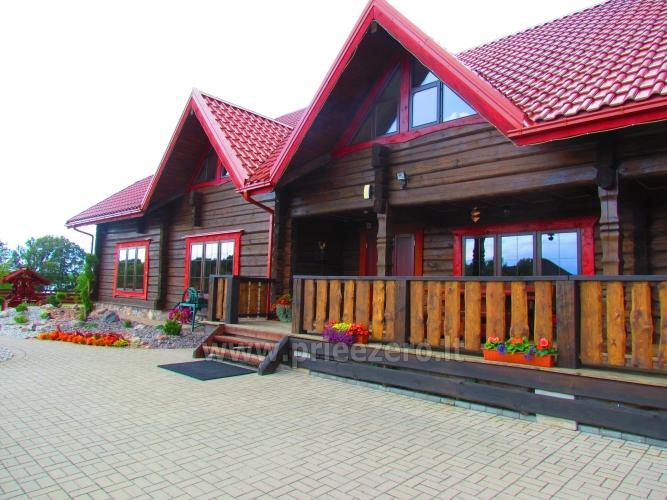 Homestead Vytautu dvaras in Lazdijai district at the lake Galstas - 4