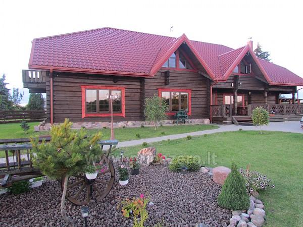 Homestead Vytautu dvaras in Lazdijai district at the lake Galstas - 6
