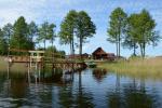 "Homestead in Moletai district on the lakeshore ""Poilsis Tau"""