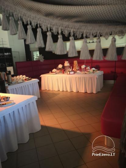 Gehöft in Lazdijai Bezirk Vitų oazė. Bankettsaal für 100 Personen, Ferienhaus, Badehaus - 5
