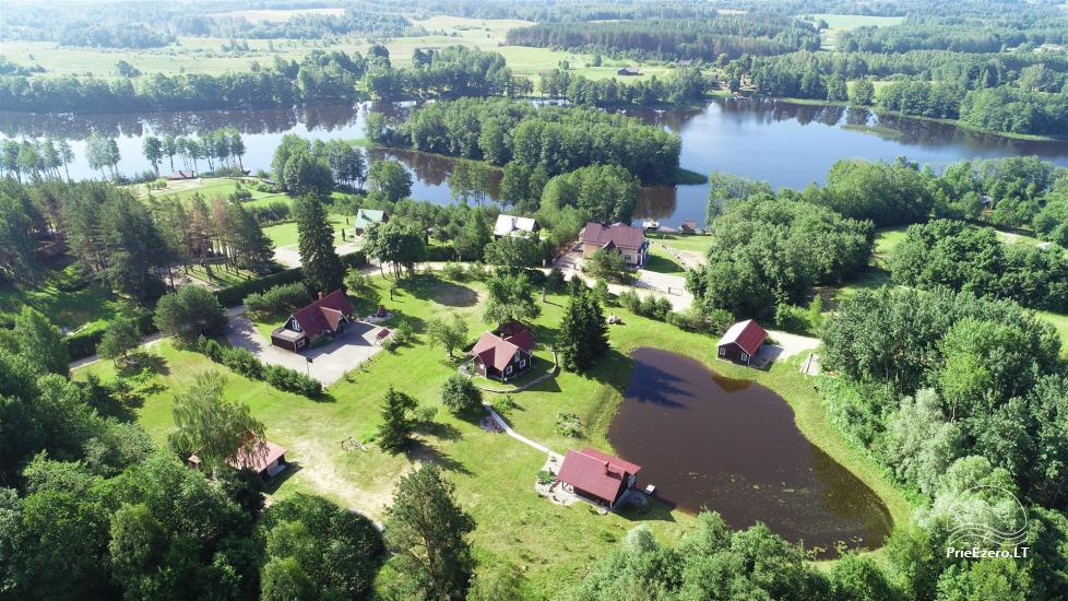 Gospodarstwo w okolicy Moletai, nad jeziorem Lūkstas - 3