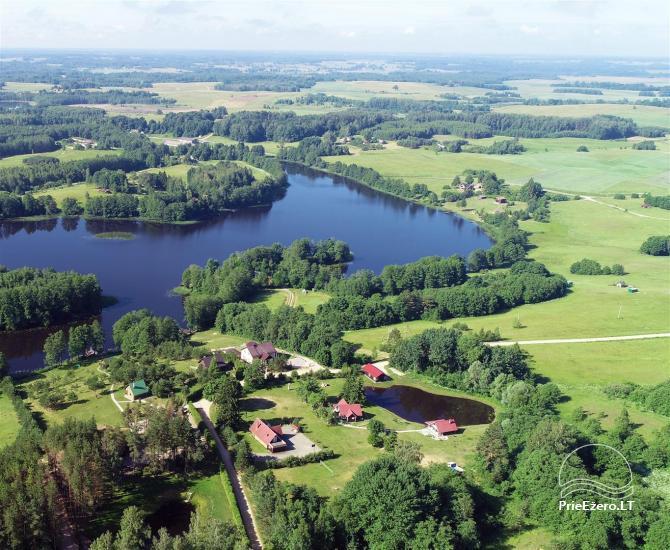 Gospodarstwo w okolicy Moletai, nad jeziorem Lūkstas - 4
