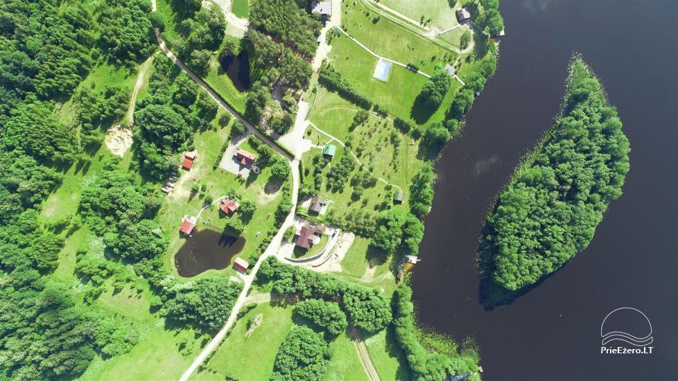 Gospodarstwo w okolicy Moletai, nad jeziorem Lūkstas - 6