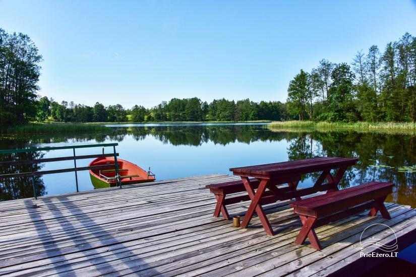 Homestead in Moletai area, by the lake Lukstas - 66