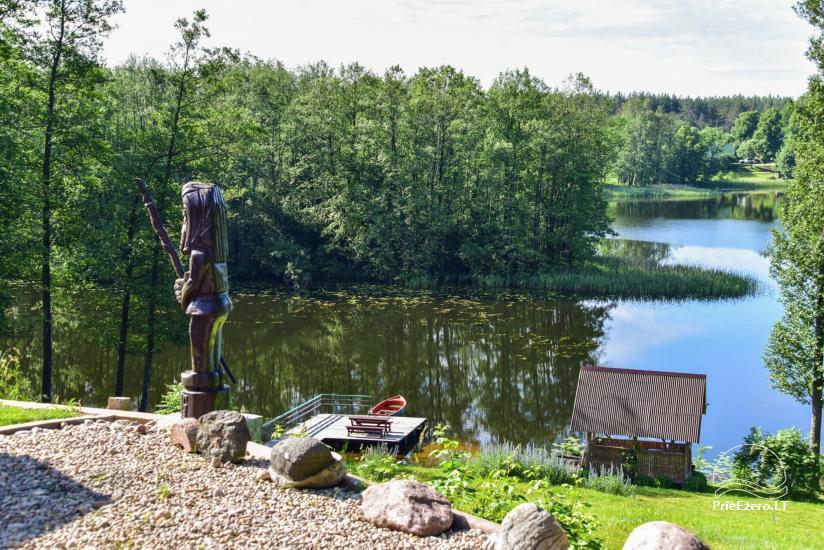 Homestead in Moletai area, by the lake Lukstas - 67