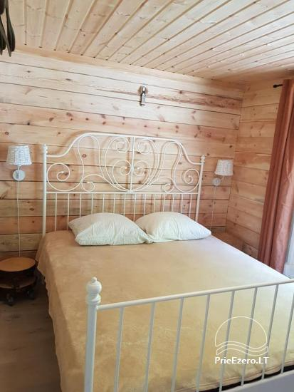 Holiday rental in Lithuania: holiday cottages near the lake Paplatele - 7