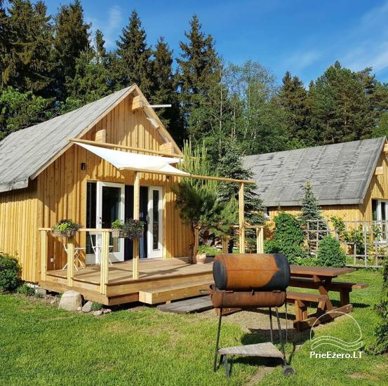 Holiday rental in Lithuania: holiday cottages near the lake Paplatele - 2