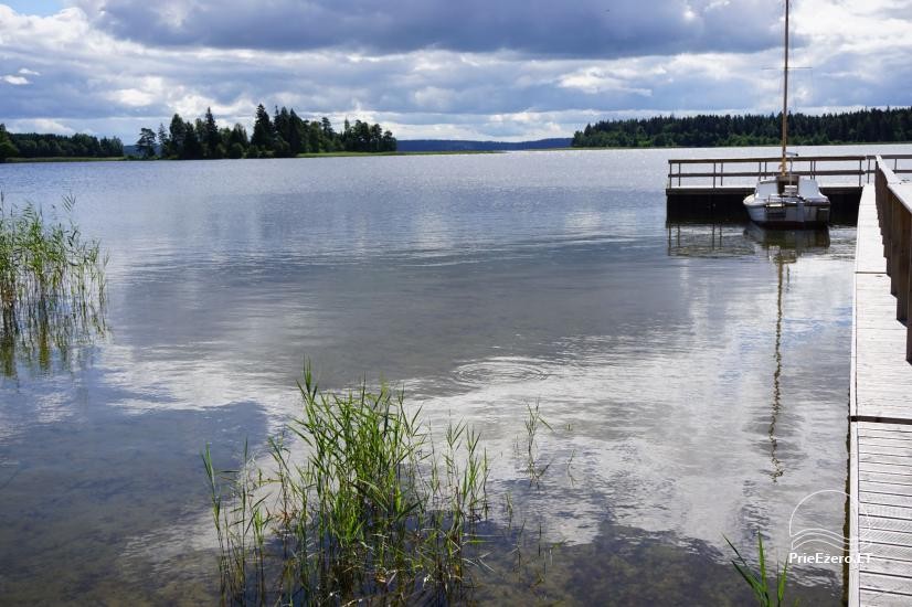 Holiday rental in Lithuania: holiday cottages near the lake Paplatele - 11