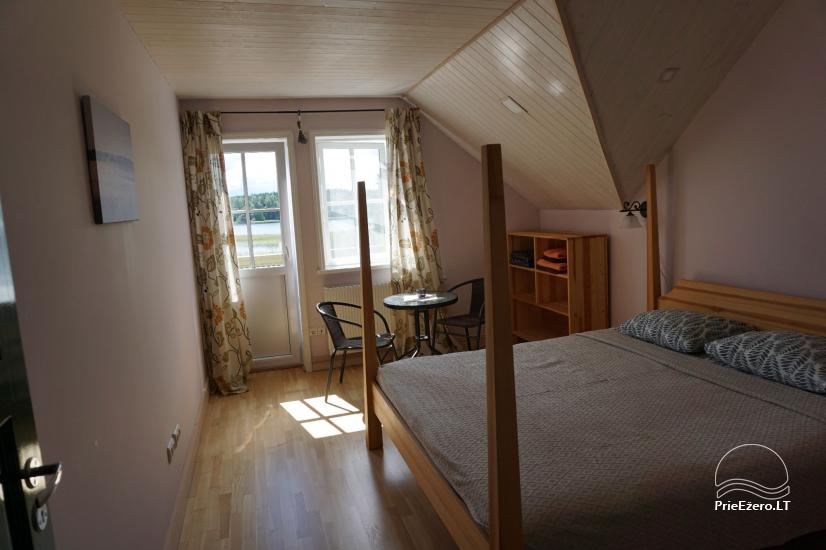 Holiday rental in Lithuania: holiday cottages near the lake Paplatele - 12