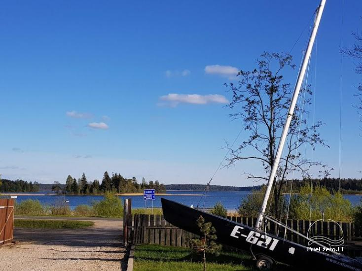 Holiday rental in Lithuania: holiday cottages near the lake Paplatele - 14