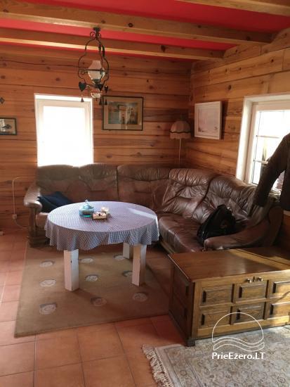 Отличное место для отдыха на озере Луоксай! Есть лодка, газон, беседка, камин - 8