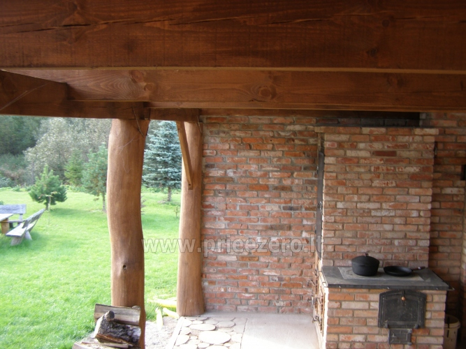 Homestead with bath for rent 10 km from Klaipeda - 15