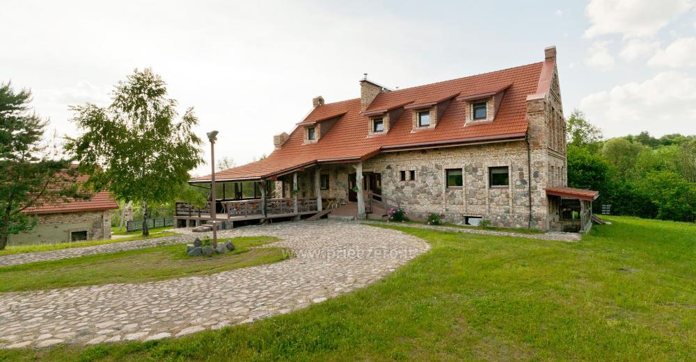 Homestead with bathhouse, hall for your recreation and events in Trakai district Vila Sveika - 5