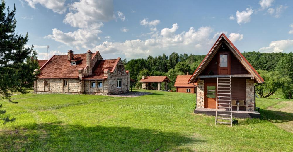 Homestead with bathhouse, hall for your recreation and events in Trakai district Vila Sveika - 6