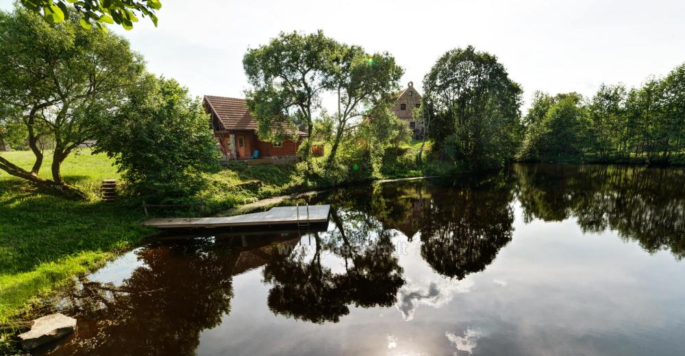 Homestead with bathhouse, hall for your recreation and events in Trakai district Vila Sveika - 8