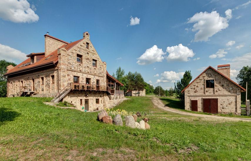 Homestead with bathhouse, hall for your recreation and events in Trakai district Vila Sveika - 1
