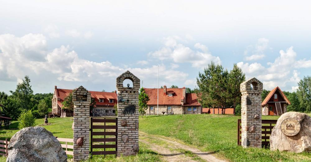 Homestead with bathhouse, hall for your recreation and events in Trakai district Vila Sveika - 3