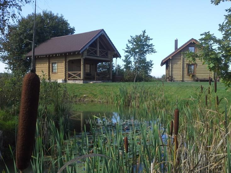 Rural tourism homestead Liepija: holiday cottages, hall, sauna, swimming pool - 14