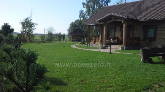 Rural tourism homestead Liepija: holiday cottages, hall, sauna, swimming pool - 2