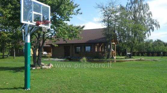 Rural tourism homestead Liepija: holiday cottages, hall, sauna, swimming pool - 7