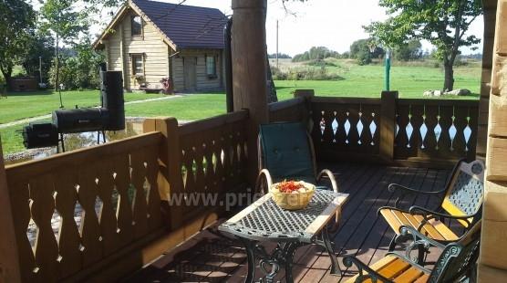 Rural tourism homestead Liepija: holiday cottages, hall, sauna, swimming pool - 8