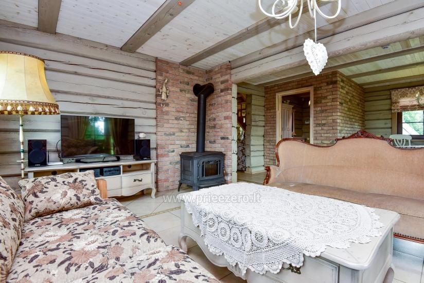 Rural tourism homestead Liepija: holiday cottages, hall, sauna, swimming pool - 22