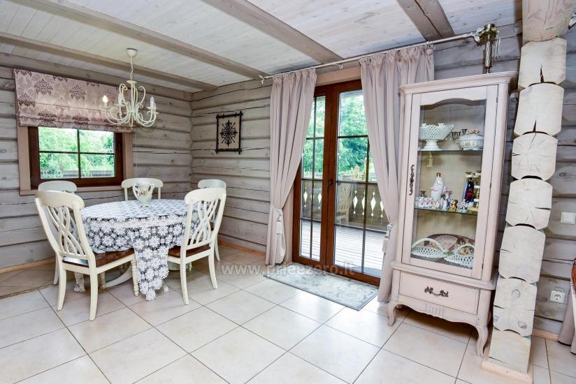 Rural tourism homestead Liepija: holiday cottages, hall, sauna, swimming pool - 23