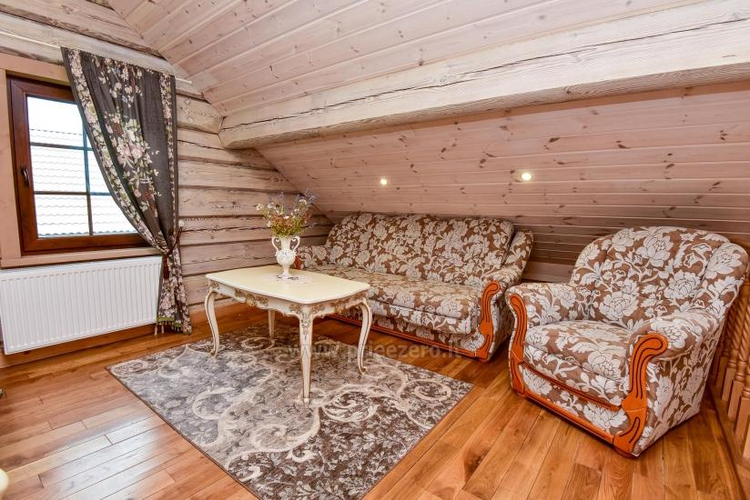 Rural tourism homestead Liepija: holiday cottages, hall, sauna, swimming pool - 25