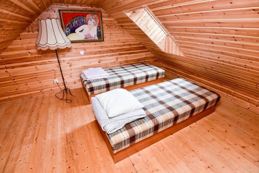 Rural tourism homestead Liepija: holiday cottages, hall, sauna, swimming pool - 29