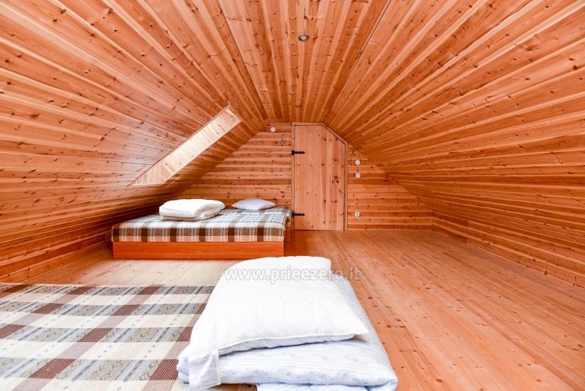 Rural tourism homestead Liepija: holiday cottages, hall, sauna, swimming pool - 30