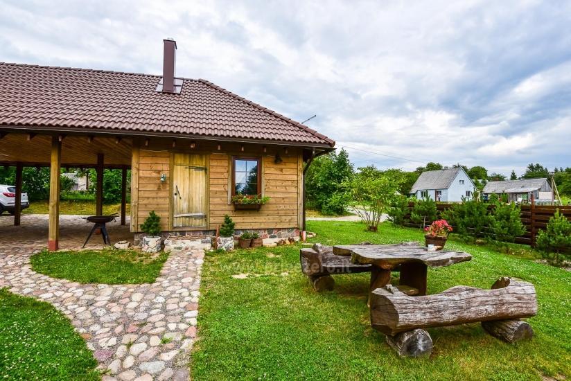 Rural tourism homestead Liepija: holiday cottages, hall, sauna, swimming pool - 31