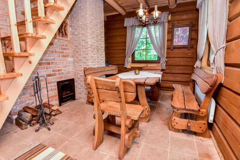 Rural tourism homestead Liepija: holiday cottages, hall, sauna, swimming pool - 32