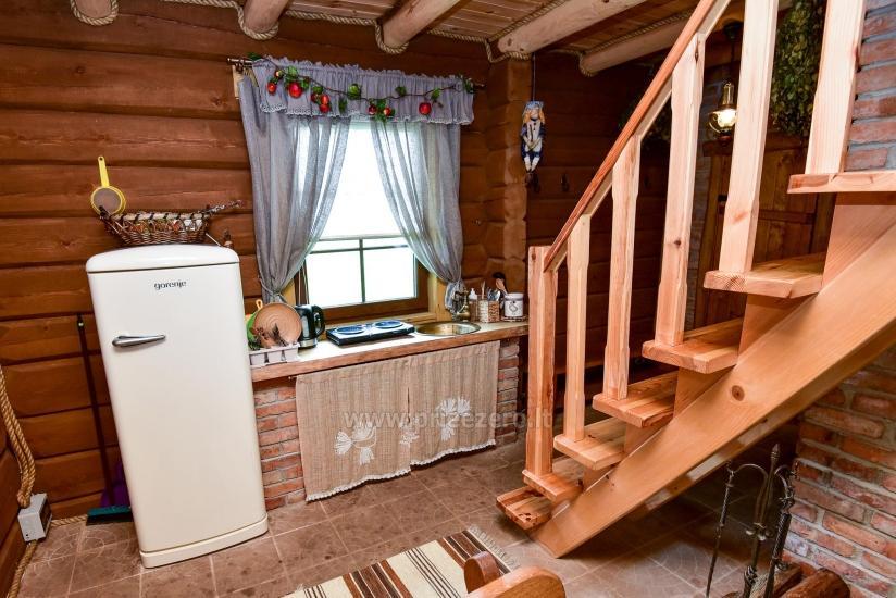 Rural tourism homestead Liepija: holiday cottages, hall, sauna, swimming pool - 33