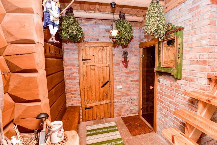 Rural tourism homestead Liepija: holiday cottages, hall, sauna, swimming pool - 34