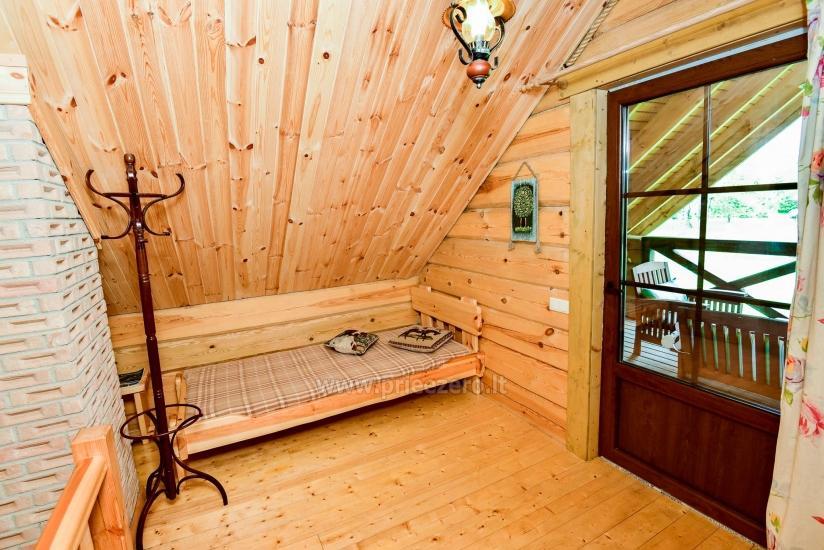 Rural tourism homestead Liepija: holiday cottages, hall, sauna, swimming pool - 37